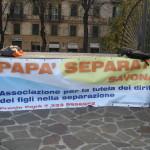 2009 20 novembre Volantinaggio davanti al tribunale 1