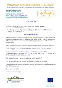 comunicato Zardo 151113
