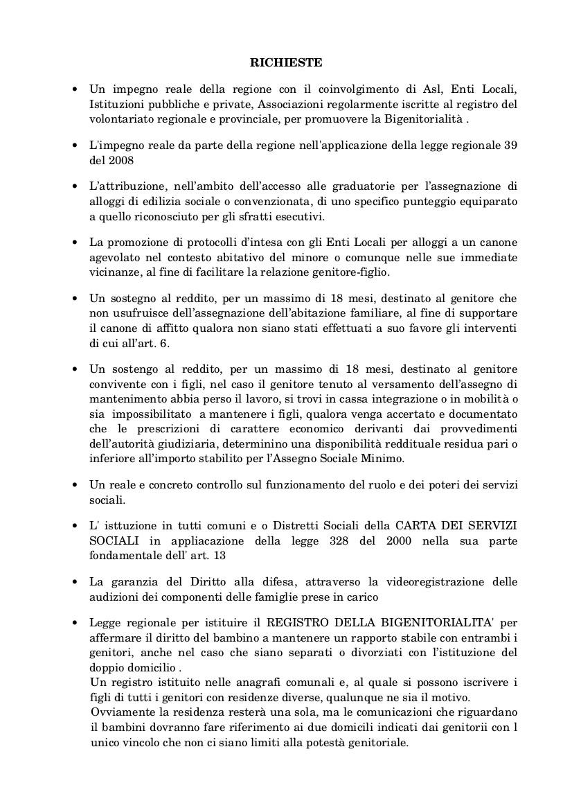 Quesiti ai candidati per le regionali 2015-2