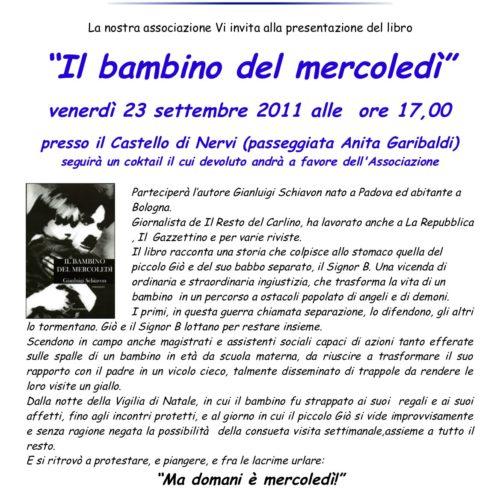 Presentazione libro Schiavon a Genova
