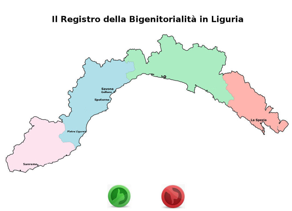 Registro Bigenitorialità in Liguria - Papà separati in Liguria