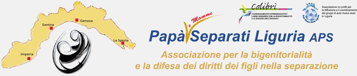 Papa separati Liguria A.P.S. bigenitorialità